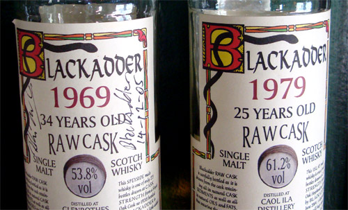 Black Adder Whiskey
