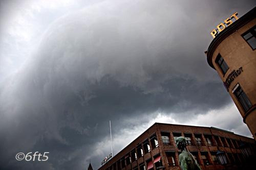 Clouded Malmö