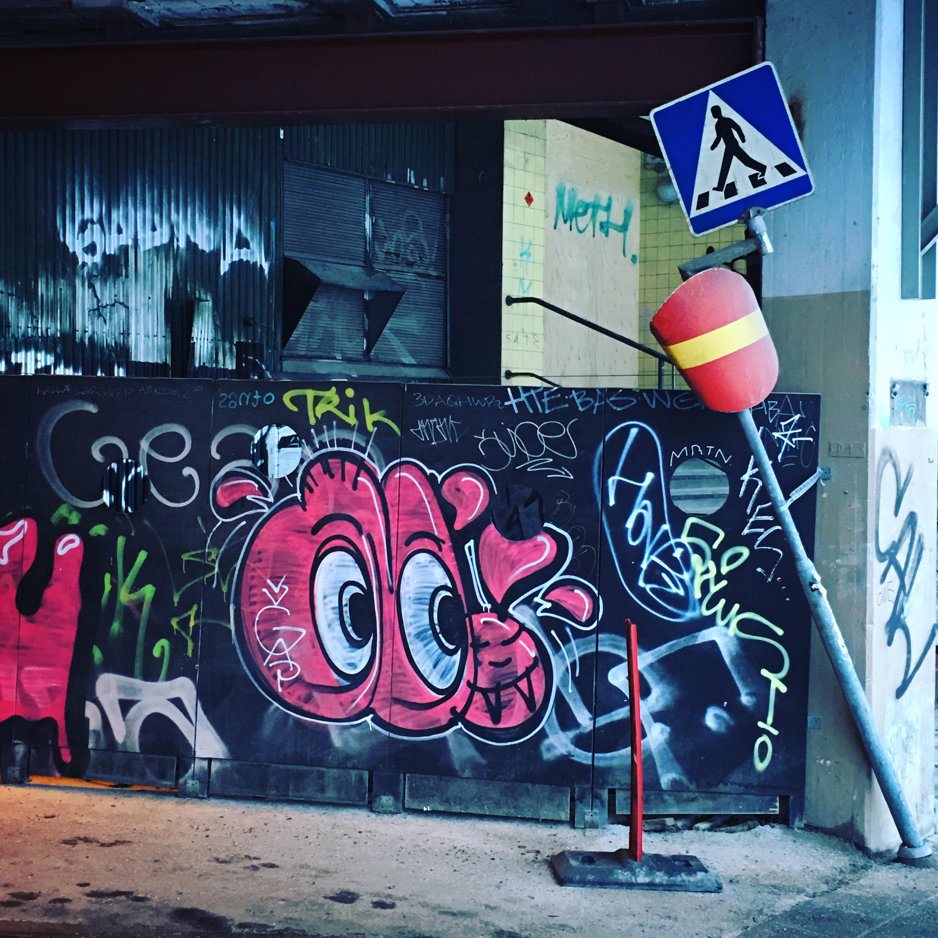 Streetart Slussen